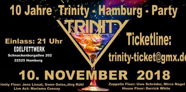 Trinity-Party am 10.11.2018